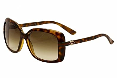 2d1dcaa155cc5 Amazon.com  Gucci Women s 3188 S Rectangle Sunglasses