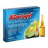 Aderogyl, 5 Ampolletas de 3ml, Vitaminas en Solución para la Prevención y el Tratamiento de la Gripe