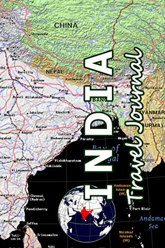- India Travel Journal (Map-themed Travel Diaries)