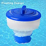 iMounTek Adjustable Floating Pool Chemical Dispenser. Premium Collapsible Floater W/Classic Design, Chlorine Bromine Tablet Holder. Great for Indoor & Outdoor Swimming Pools, Spa Chemical Dispenser