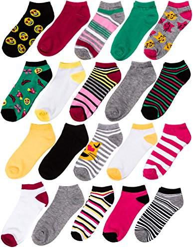 e9a4244e0 20 Pairs Chatties Low Cut Women Sock Athletic No-Show Size 9-11 ...