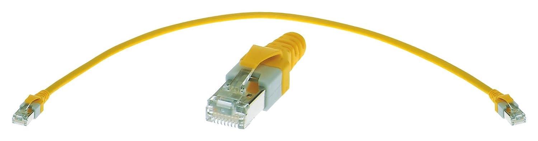 RJ45 Plug Ethernet Cable 200 mm -9474747001 RJ45 Plug Yellow 09474747001 7.9 Pack of 2 Cat5e