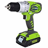 Greenworks 24V 2 speed hammer drill with 2-2.0ah battery and 1- charger