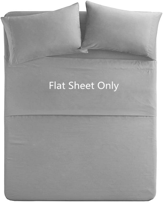 LUXURY 200 THREAD COUNT EGYPTIAN COTTON FLAT SHEETS ALL SIZES