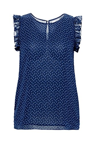 Blouse edc Bleu Navy by Esprit 400 Femme 8wpRq