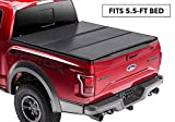 Rugged Liner Premium Hard Folding Truck Bed Tonneau Cover | HC-F5515 | fits 15-18 Ford F-150 5.5ft., 5'5