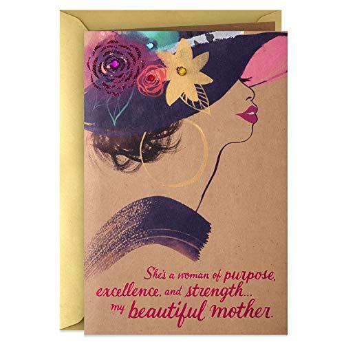 Hallmark Mahogany Mothers Day Card for Mom (My Beautiful Mother)
