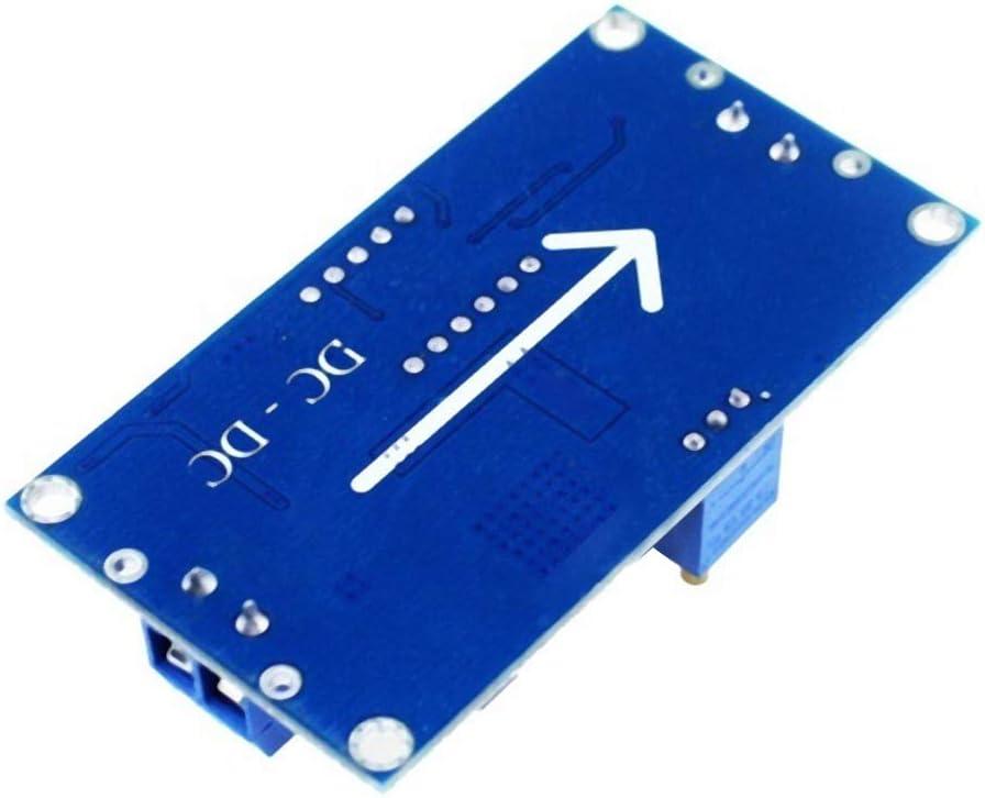 M/ódulo de fuente de alimentaci/ón,m/ódulo de voltaje de bajada 4.0-40V a 1.25-37V Convertidor reductor de potencia M/ódulo