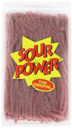Sour Power Straws, Watermelon (200-Count Straws), 49.4-Ounce Tub (Straws Sour Power)