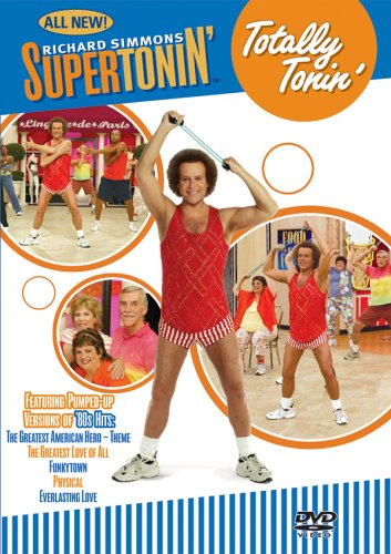 Cd Somerset - Richard Simmons- Supertonin Totally Tonin' 80s