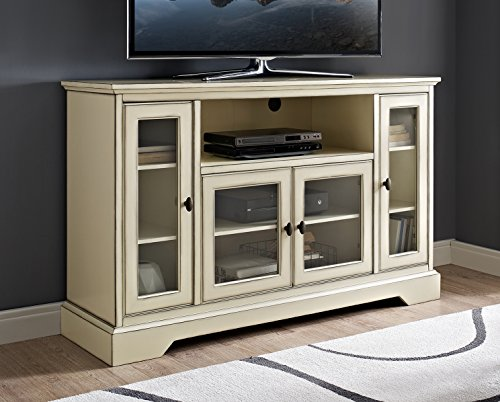 WE Furniture AZ52C32AWH TV Stand, 52