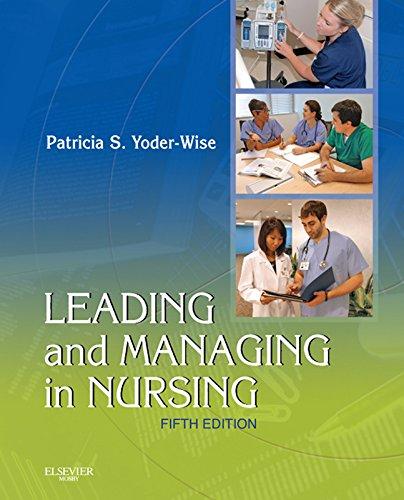 Leading and Managing in Nursing Pdf