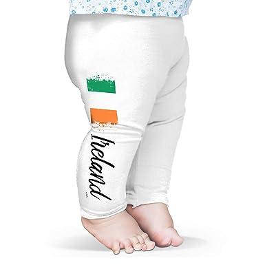 0217a4d76d698 TWISTED ENVY Baby Leggings Ireland Paint Splatter Flag White 3-6 Months