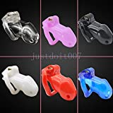 Lovepan Natural Resin Male Chastity Device Belt Cock Lock Bird Cage Restraint New