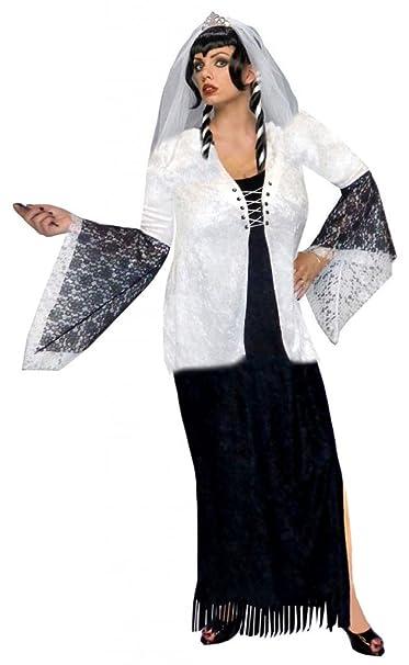 5da17dd2902 Amazon.com: Ghost Zombie Bride Plus Size Supersize 2PC Halloween ...