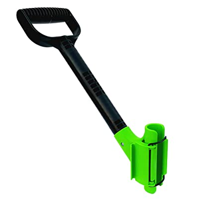 The Rah Handle! A Universal Ergonomic Back Saving Lefty Or Righty, Secondary Handle For Snow Shovels, Rakes, and Other Gardening Or Construction Tools. : Garden & Outdoor