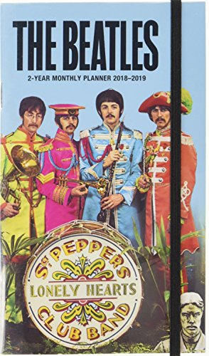 Beatles 2018 Pocket Monthly Planner 2-Year: Sgt Peppers Lonely Hearts Club Band by ACCO Brands