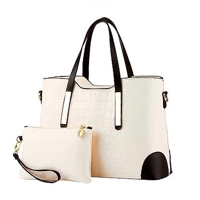 Amazon.com  HIINST Handbags Bags FIap Top Handle Satchel Handbags Tote  Purse Leather Tote Black Women Bag Luis Vuiton Y1213 Color G  Shoes a7fc9c4010ec0