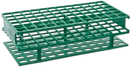 - Nalgene Unwire Polypropylene Test Tube Rack, 13mm, Green (Case of 8)