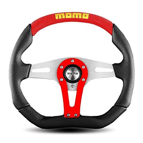 Momo Trek Steering Wheel Trk35bk0r  350Mm Diameter  Black Red