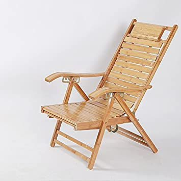 Chair Ocio en la Edad Plegable sillas Silla de bambú ...