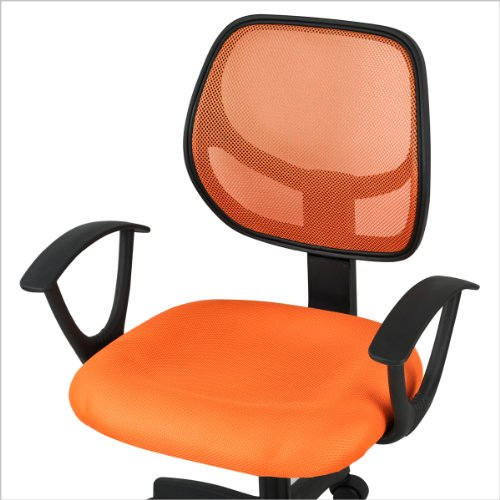 Yaheetech Adjustable Mid-Back Swivel Office Desk Chair