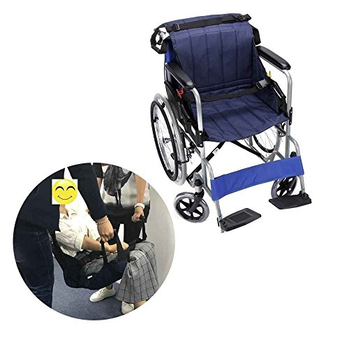 (Elderly Patient Lift Stair Slide Board Transfer Emergency Evacuation Chair Wheelchair Belt Safety Full Body Medical Lifting Sling Sliding Transferring Disc Use for Transfer Position)