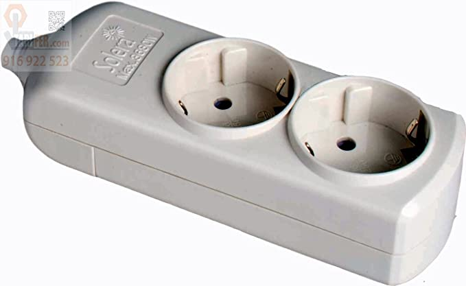 9037R12 - Empalme de cable coaxial para antena TV Axil: Amazon.es: Bricolaje y herramientas