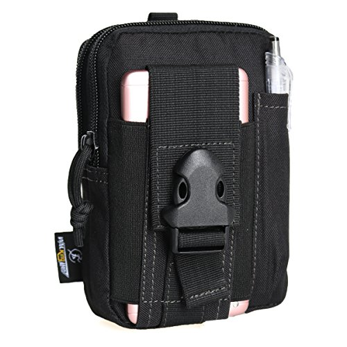 Multifunctional Outdoor Tactical Backpack Waterproof Portable Military Hip Waist Belt Bag iPhone Pouch for iPhone 7 6s Samsung Galaxy S7 Easy to Carry Practical Small Kit