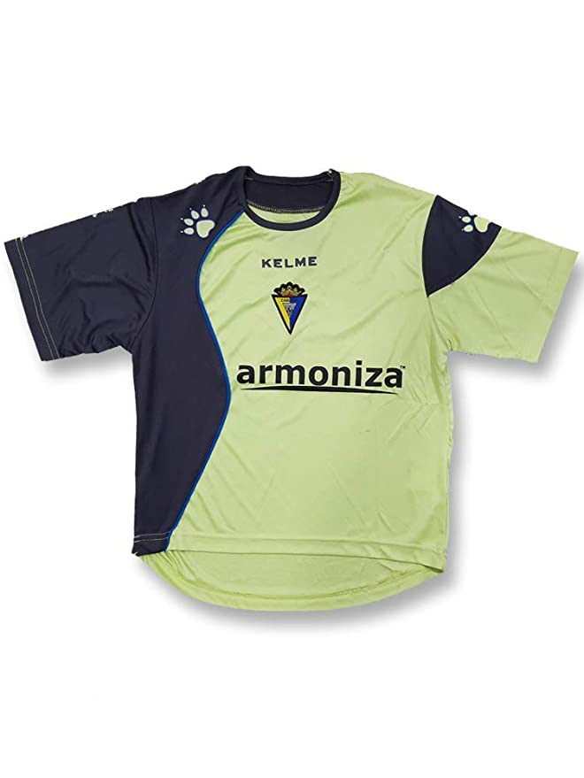 KELME - Cadiz Camiseta ENTRENO Lima 06/07 Hombre Color: Lima Talla ...
