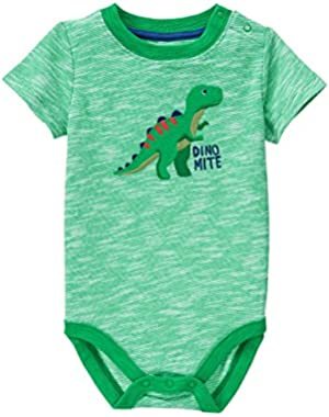 Baby Toddler Boys' T Rex Graphic Bodysuit
