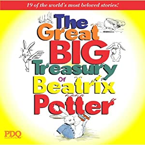 The Great Big Treasury of Beatrix Potter Audiobook