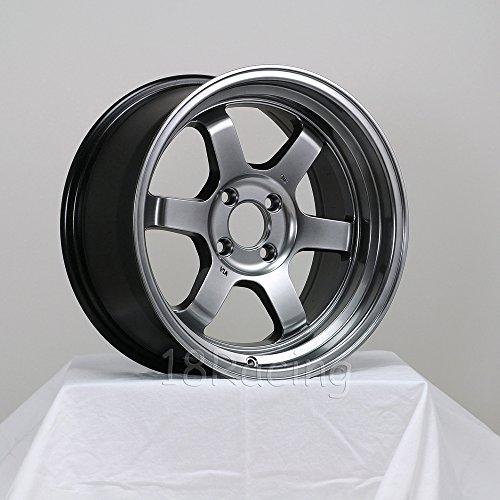 ROTA GRID V 16X8 PCD:4X100 OFFSET:20 HB67.1 HYPERBLACK - Rota Wheel