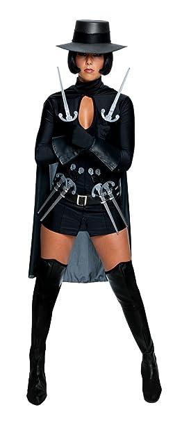 Womens V for Vendetta Cosplay Halloween Costume