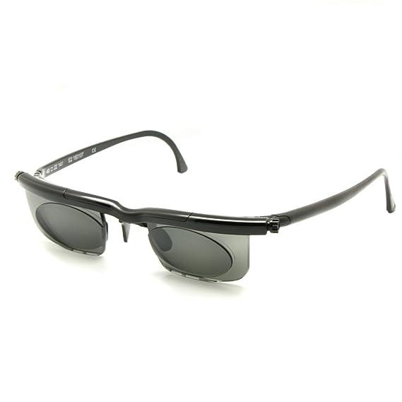 Adlens cadrans solaires verres teintés-6D à + lunettes de soleil optiques 3D (noir) DCSerQb