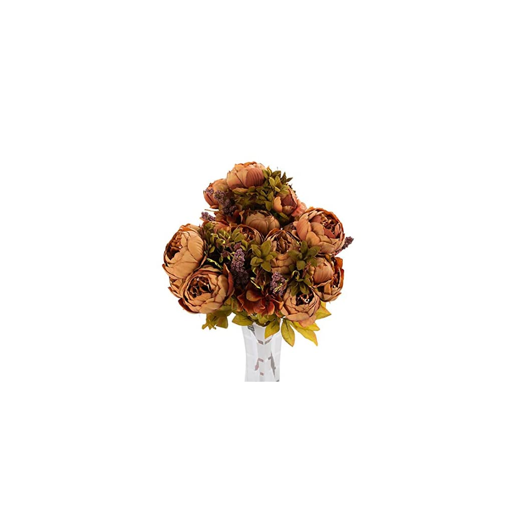 3-Bouquet-24-Heads-Artificial-Silk-Flowers-Vintage-European-Style-Peony-with-Leaves-Plant-Floral-Decoration-for-Home-Wedding-Party-by-BCDshop
