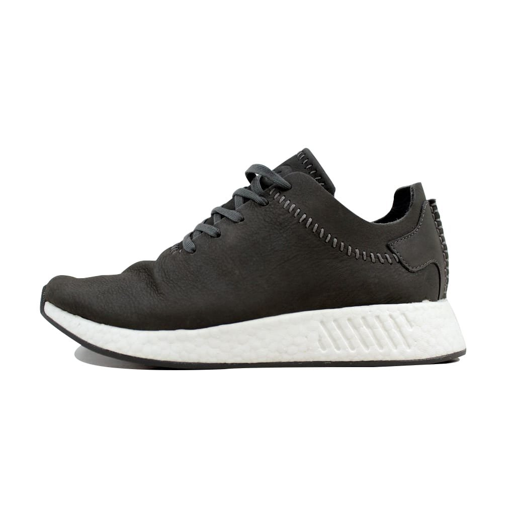 814f46697be0c adidas Men's WH NMD R2 Ash/Ash-Off White Wings and Horns Leather BB3117 Shoe