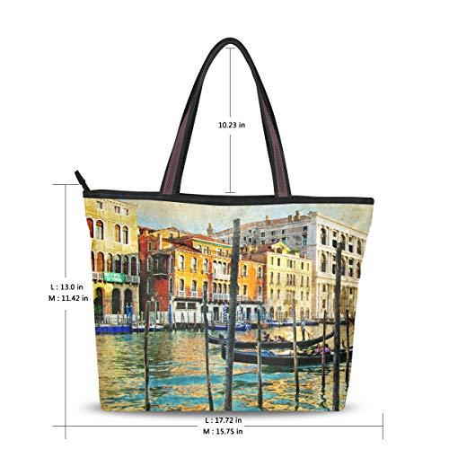 MyDaily Venice Handbag Bag Italy Women Vintage Shoulder Tote rvqrgp