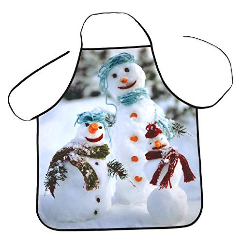 (Christmas Apron, Pumsun 2019 Christmas Decoration Waterproof Dinner Party Apron)