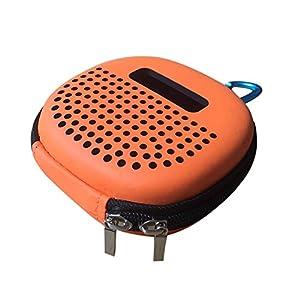OVERMAL Shockproof Carry EVA Storage Case Bag for Bose Soundlink Micro Bluetooth Speakers (orange)
