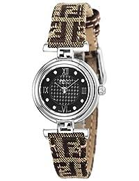 FENDI watch MODA Brown dial diamond F271222DF