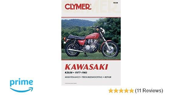 Kawasaki kz650 1977 1983 penton staff 9780892872961 amazon books fandeluxe Images