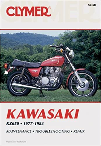 Kawasaki kz650 1977 1983 penton staff 9780892872961 amazon books kawasaki kz650 1977 1983 3rd edition fandeluxe Images