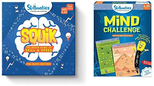 Skillmatics Squik: The Brain Game of Skill and Speed - Math Edition (6-99 Years) & Mind Challenge, 6-99 Years (B0866F3335) Amazon Price History, Amazon Price Tracker