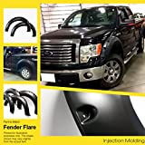 APS Injection Moulding Fender Flares Riveted 4Pcs Ford F-150