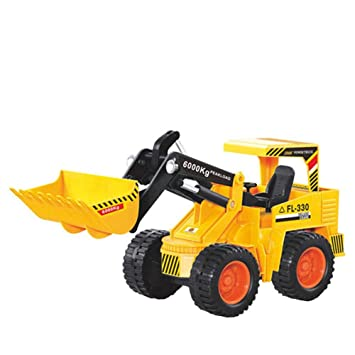 Amazon Com Diecast Construction Toy Tractor 1 16 Scale Excavator