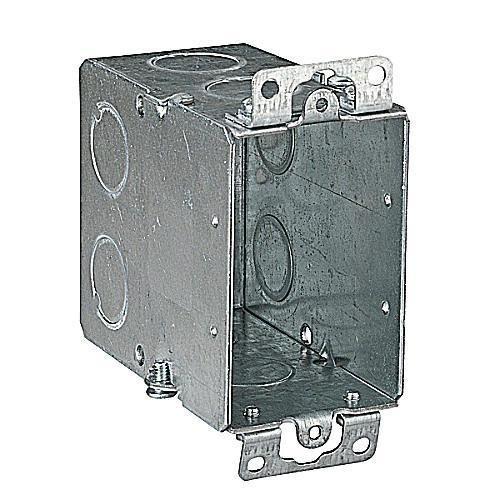 Thomas & Betts 128138 CY-1/2 in Switch Box, Gangable, 3-1/2