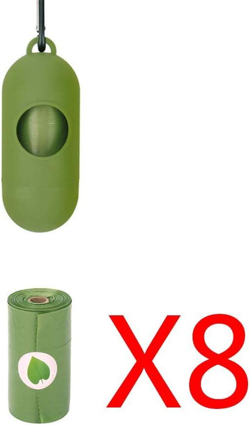 Lwl220 8 bolsas biodegradables biodegradables para recoger ...