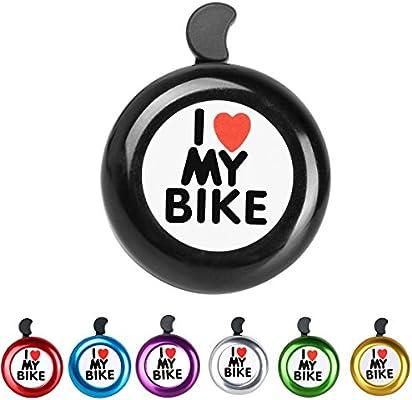 Timbre para bicicleta Aluminio Bike Bell anillo –