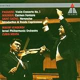 Works for Violin: Paganini, Waxman, Saints-Saens